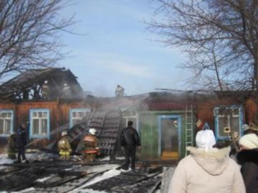 Пожар в детском саду поселка Октябрьский ликвидирован