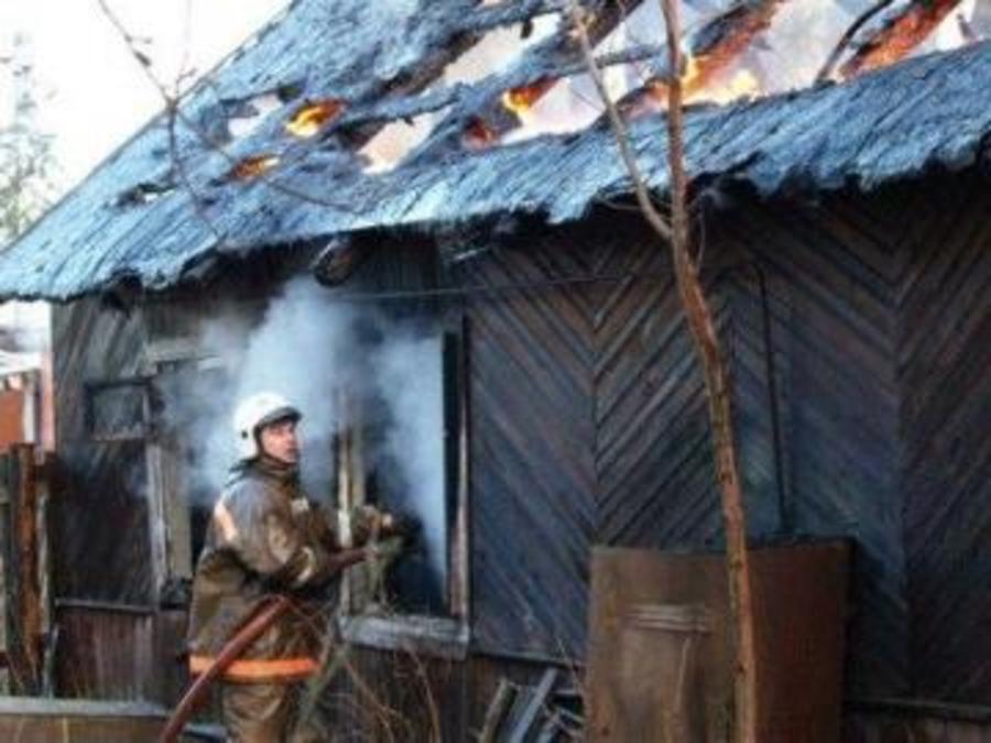 В Кунгурском районе сгорела дача - фото 1