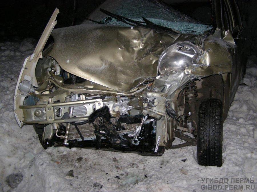 В Юсьвенском районе женщина-водитель сбила двух пешеходов - фото 1