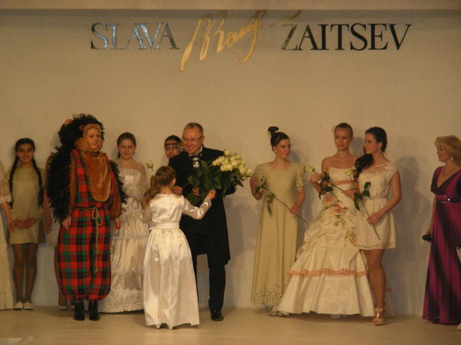 Пермская «Дива» удачно прошлась по подиуму Славы Зайцева