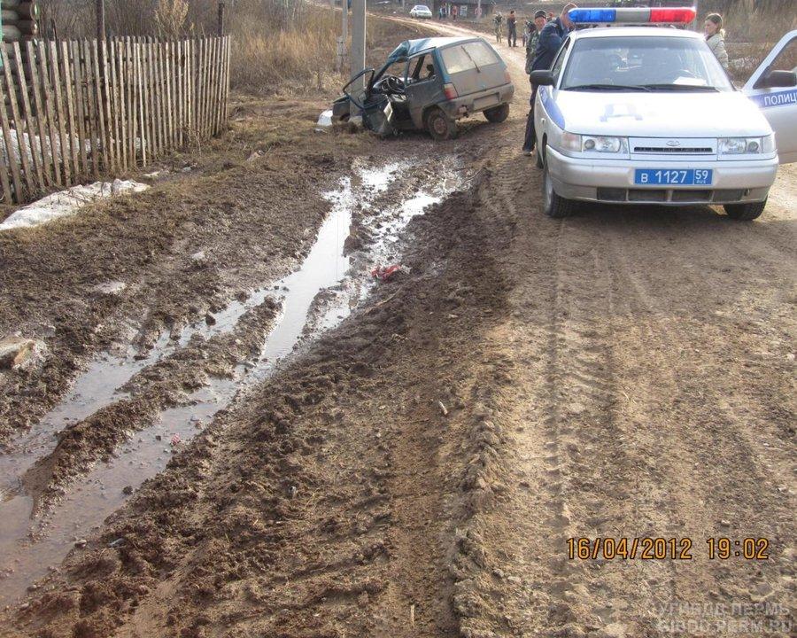 В Пермском крае в ДТП с Окой пострадали 4 человека - фото 1