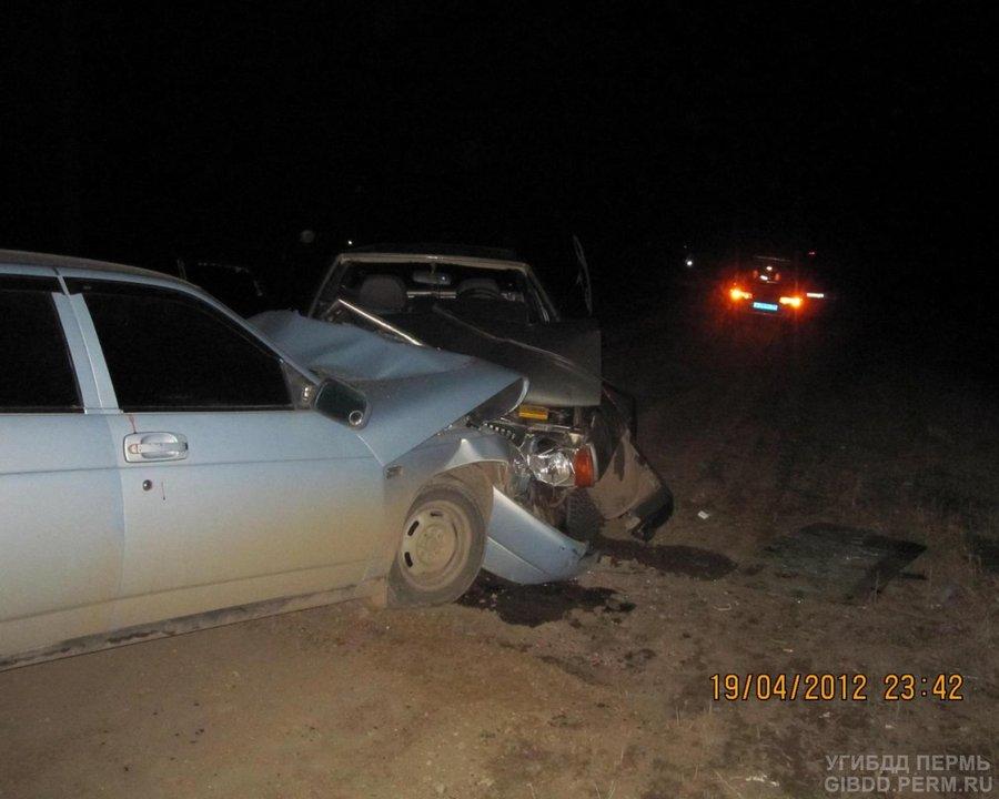 В Чернушке нетрезвый водитель забрал с собой в больницу еще троих