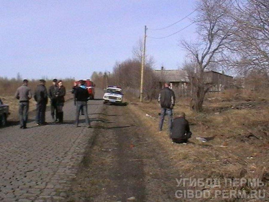 В Губахинском районе погиб мотоциклист