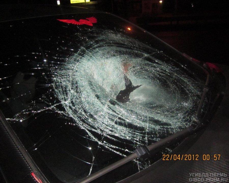 В Перми Мазда убила пешехода