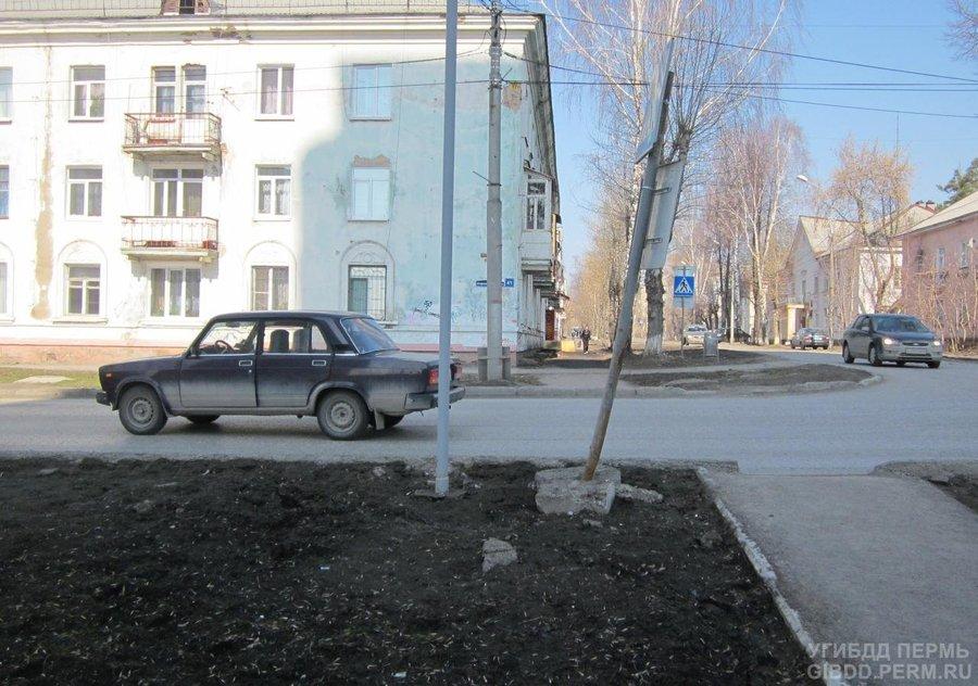 В Перми водитель «семерки» сбил женщину с ребенком - фото 1