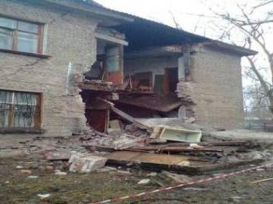 В Перми обрушилась стена дома - фото 1