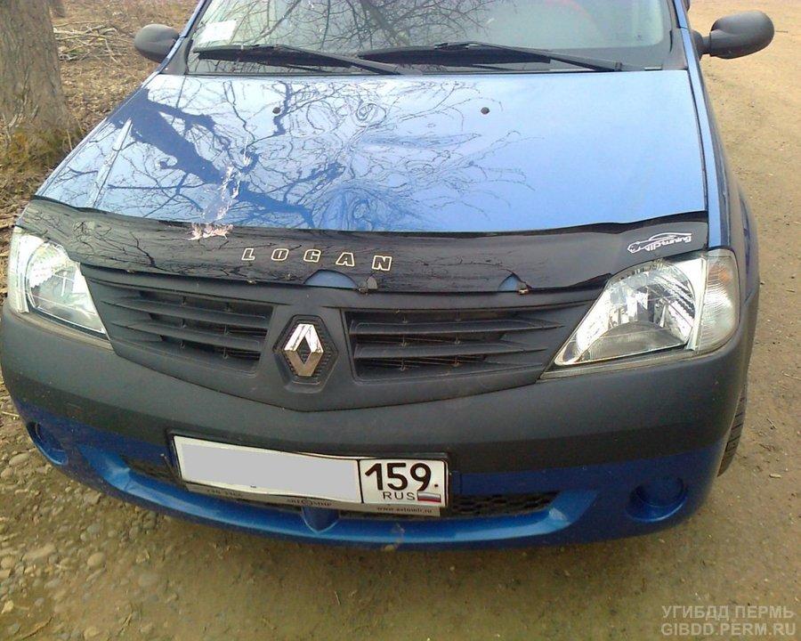 В Оханске под колеса автомобиля попала первоклассница