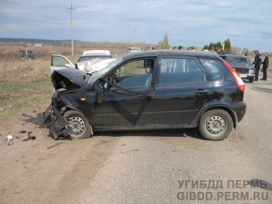 В Пермском крае в автоаварии ранены три человека - фото 1