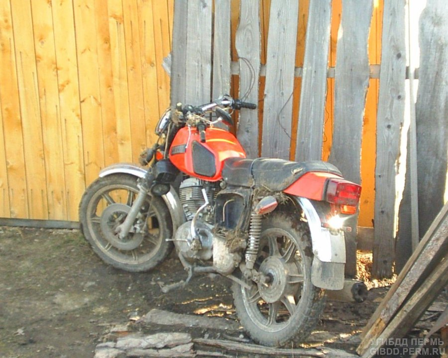 В Суксуне пьяный мотоциклист не учел дорожных условий - фото 1