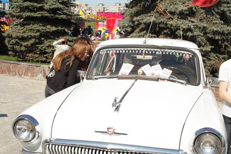 В Перми на эспланаде праздновали День Победы дети - фото 1