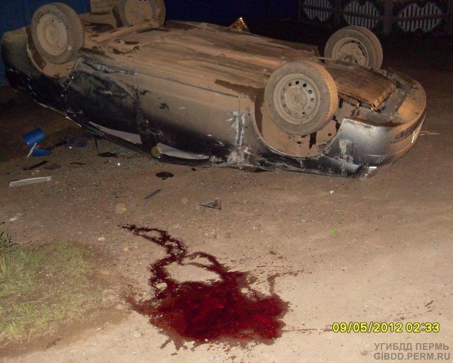 В аварии в селе Барда погиб водитель, двое тяжело ранены - фото 1
