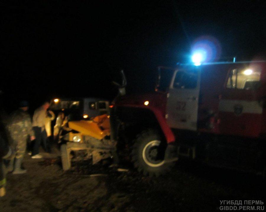 В Красновишерском районе в автоаварии ранены три человека - фото 1
