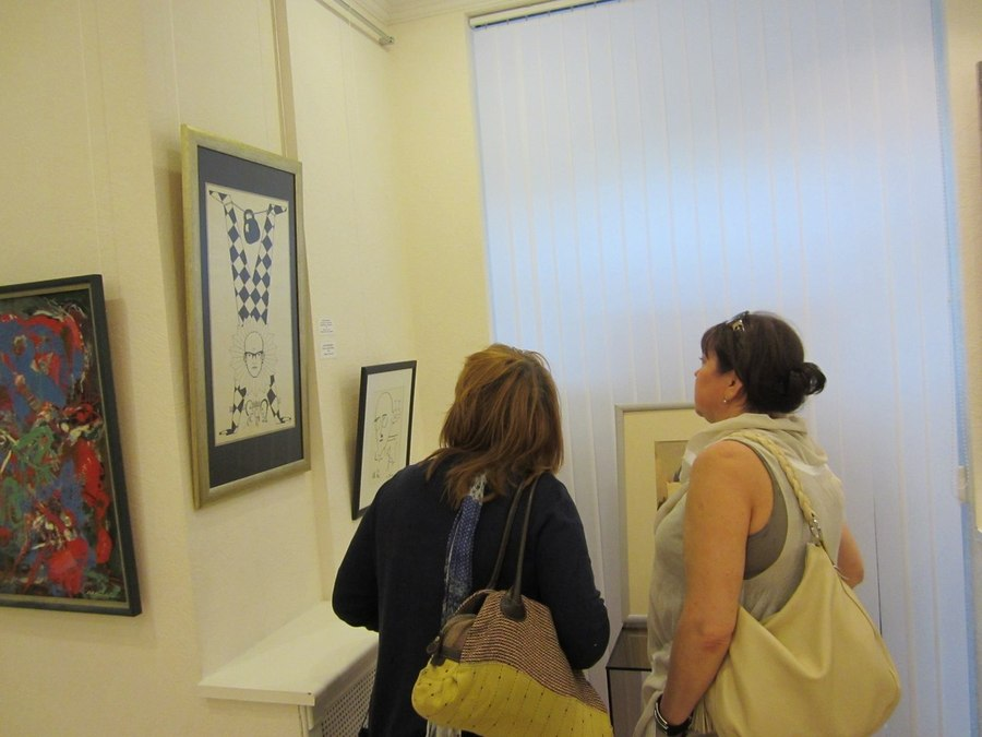 В Перми на выставке художника-абстракциониста кричали «Горько!»