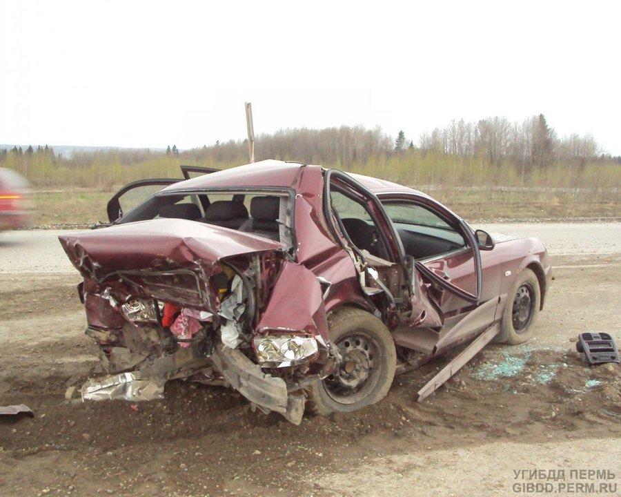 В Добрянском районе в столкновении Хендаев пострадал ребенок и один из водителей