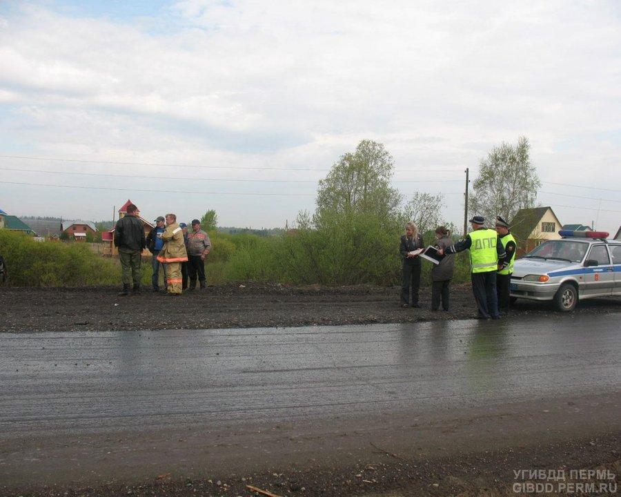 Пьяная компаний сбила машиной двух дорожных рабочих и скрылась - фото 1