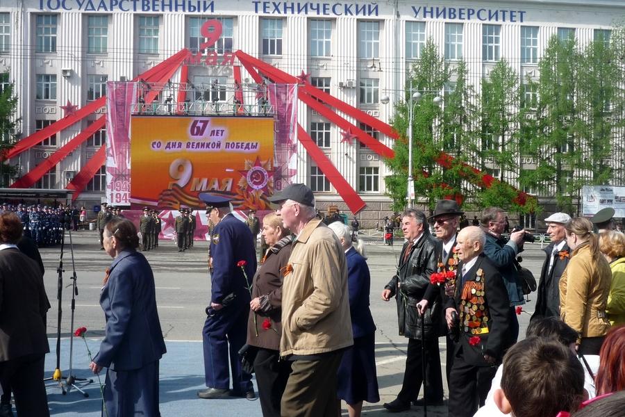 В Перми журналисты не дали ветеранам посмотреть парад Победы