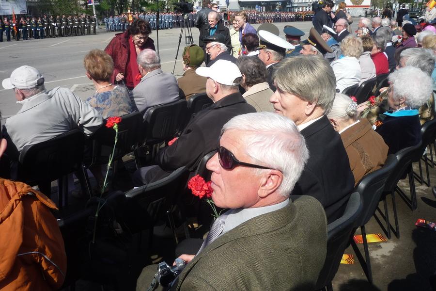 В Перми журналисты не дали ветеранам посмотреть парад Победы - фото 5