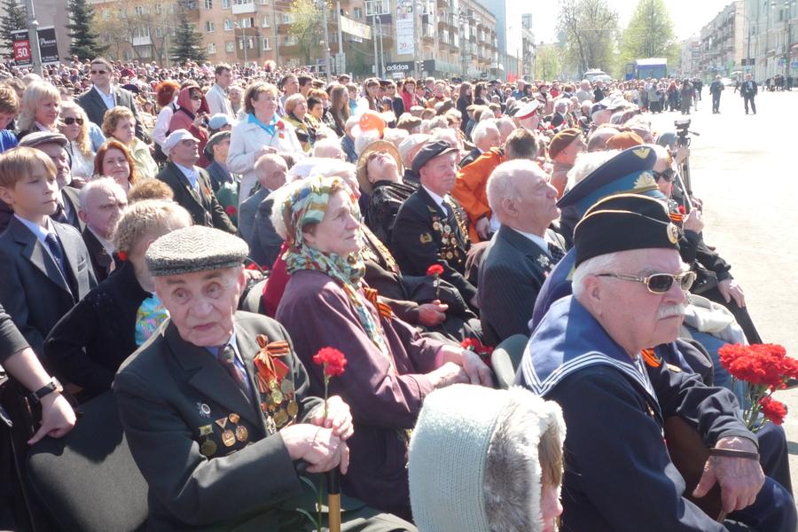 В Перми журналисты не дали ветеранам посмотреть парад Победы - фото 13