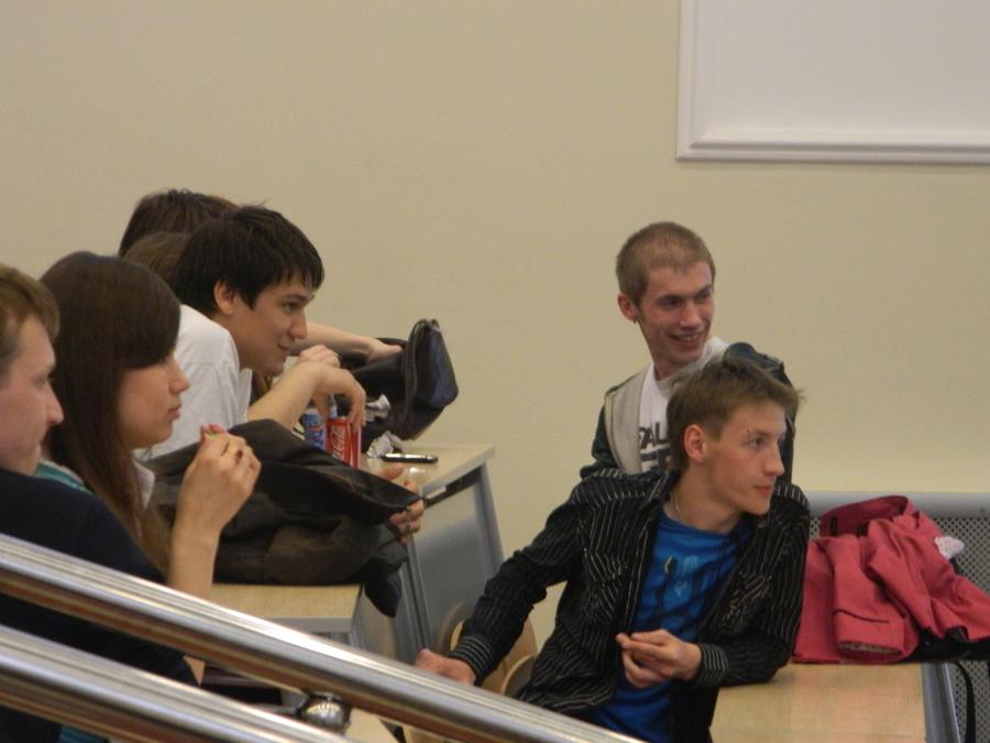 Студенты ПНИПУ отвечали на вопросы ниже пояса.