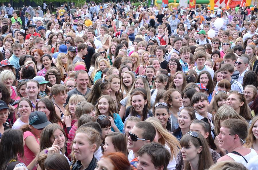 В Перми прошёл самый массовый урок танца - фото 2