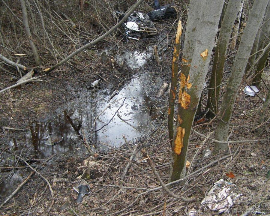 В Краснокамском районе убился мотоциклист