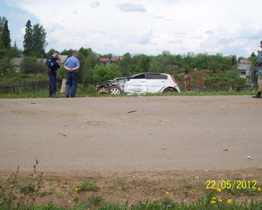 В Очерском районе в ДТП пострадали два человека