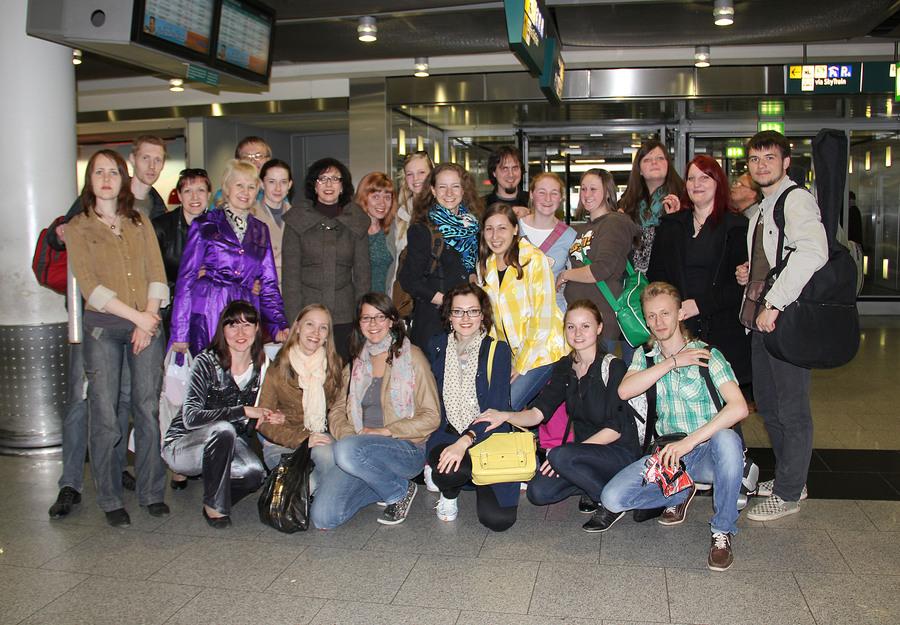Пермский хор с немецким названием пел в Испании