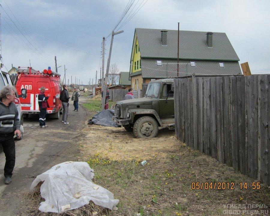 В Соликамске грузовик задавил женщину