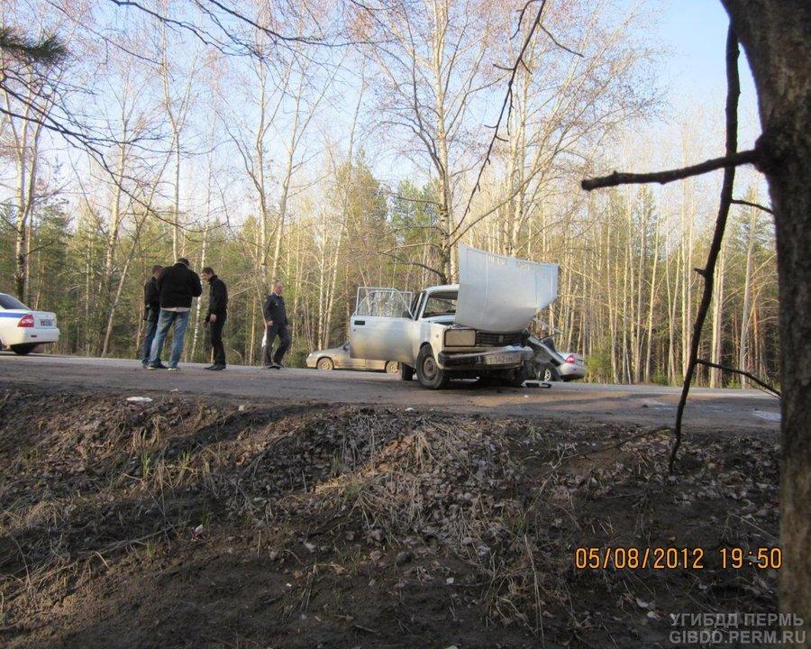 В Соликамске погиб водитель «пятерки»