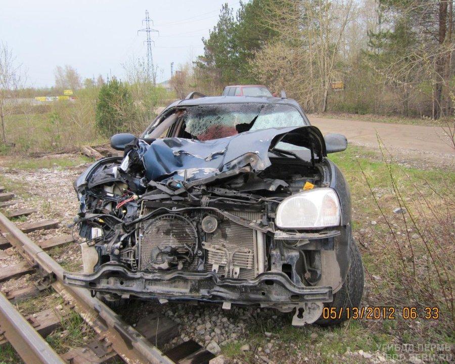 В Соликамске водитель иномарки задавил двух пешеходов