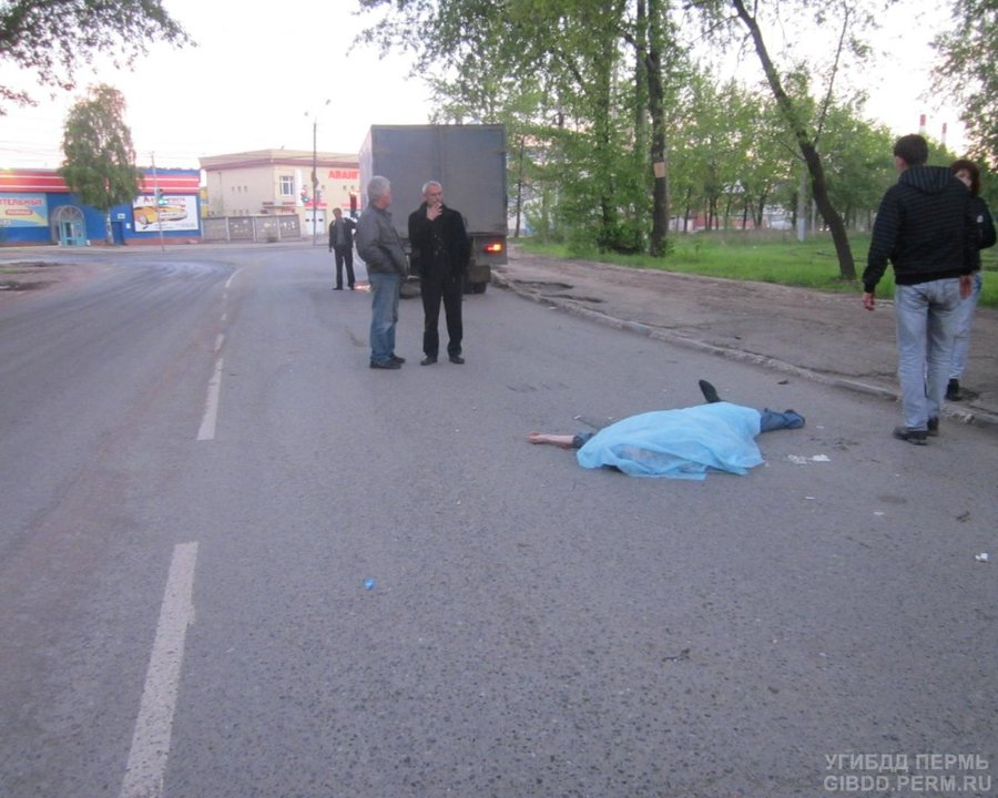 В Перми Газель убила пешехода