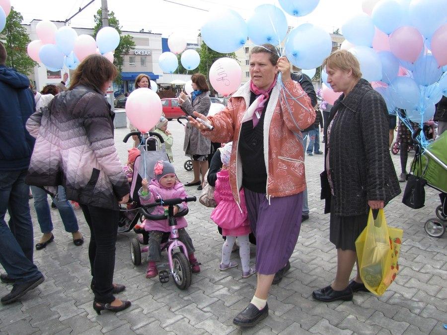 В Перми прошёл «Парад колясок»
