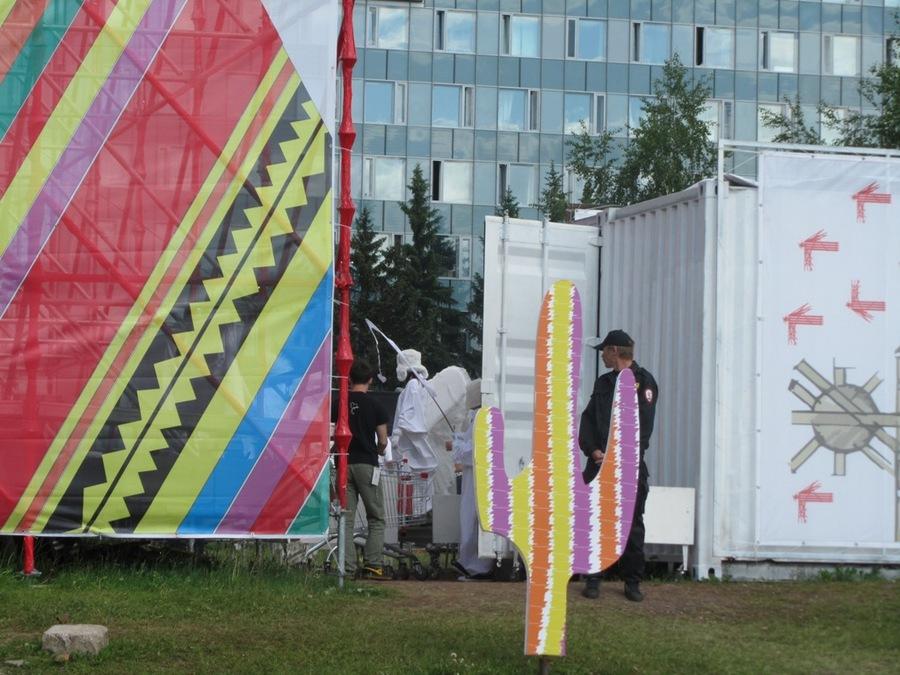 В Перми фестиваль «Белые ночи» посетили ангелы