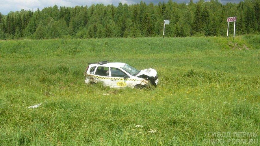В автоаварии в Чусовском районе погибла годовалая девочка