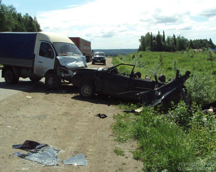 Три человека погибли на трассе Пермь - Березники