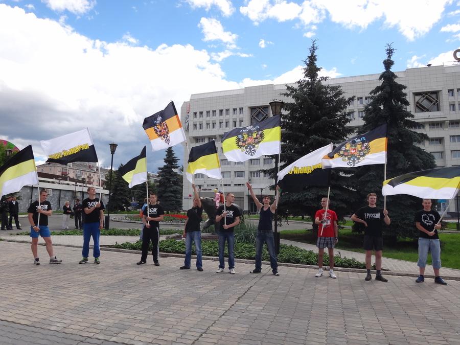 В Перми прошел пикет с Имперскими флагами - фото 2