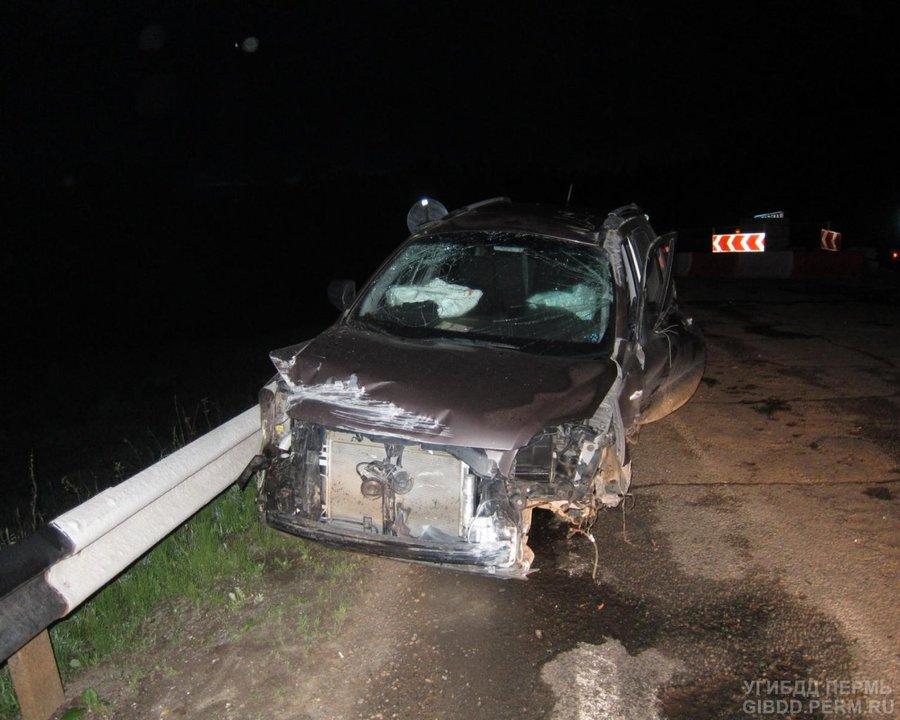 В Ильинском районе погиб водитель Киа Спортэдж