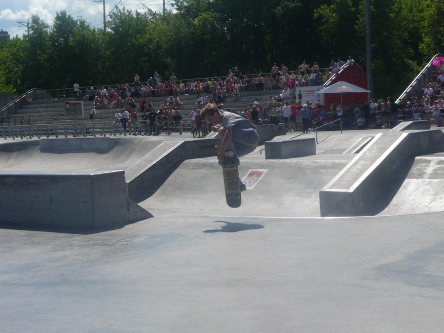 Пермские скейтеры заявили о себе - фото 1