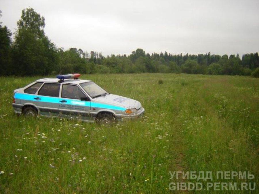 В Сивинском районе восьмиклассница совершила падение с мопеда