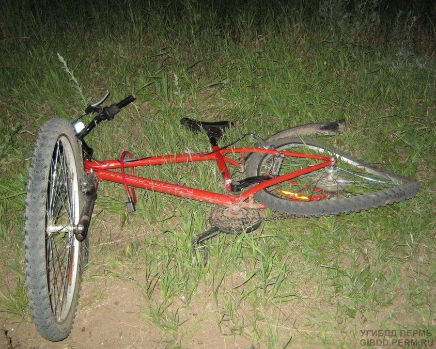 В Чайковском районе пострадал от ВАЗа велосипедист