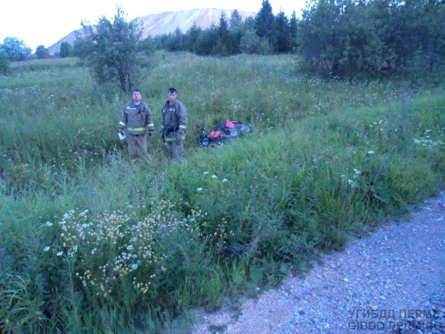 В Чусовском районе погиб мотоциклист, пожелавший проехаться стоя