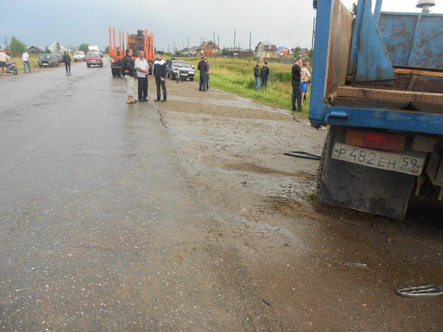 Два человека в Карагайском районе погибли в ДТП - фото 1
