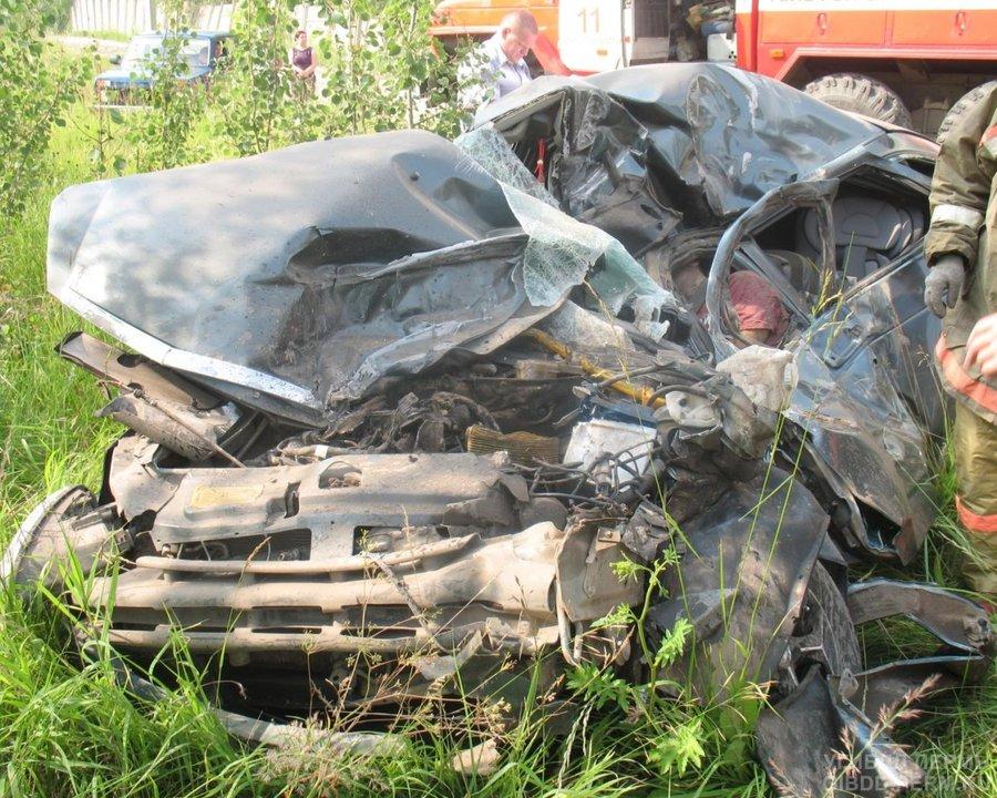В Краснокамске погиб водитель Приоры - фото 1