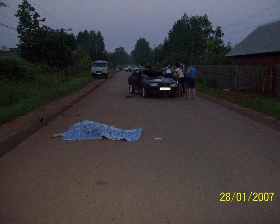 В Очерском районе под колесам ВАЗа погибла женщина