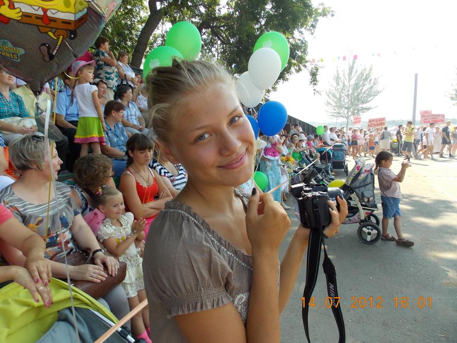 В Нытве на Дне города прошёл Парад Славы
