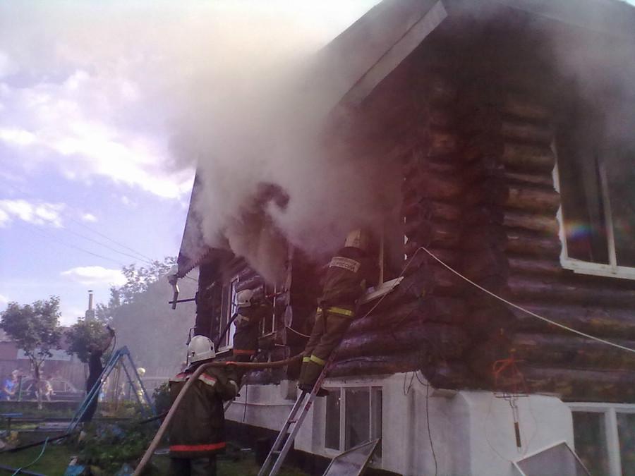 Пермь пожар 2 янва