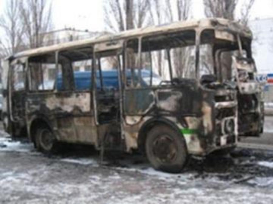 В Пермском крае загорелся рейсовый автобус с пассажирами