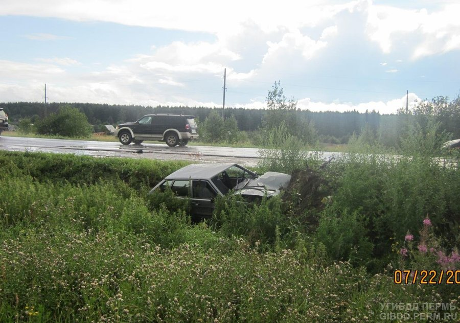 В Соликамском районе на автодороге погиб пешеход