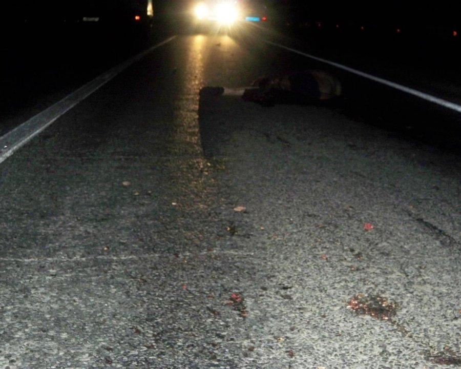 В Большесосновском районе сбит насмерть пешеход