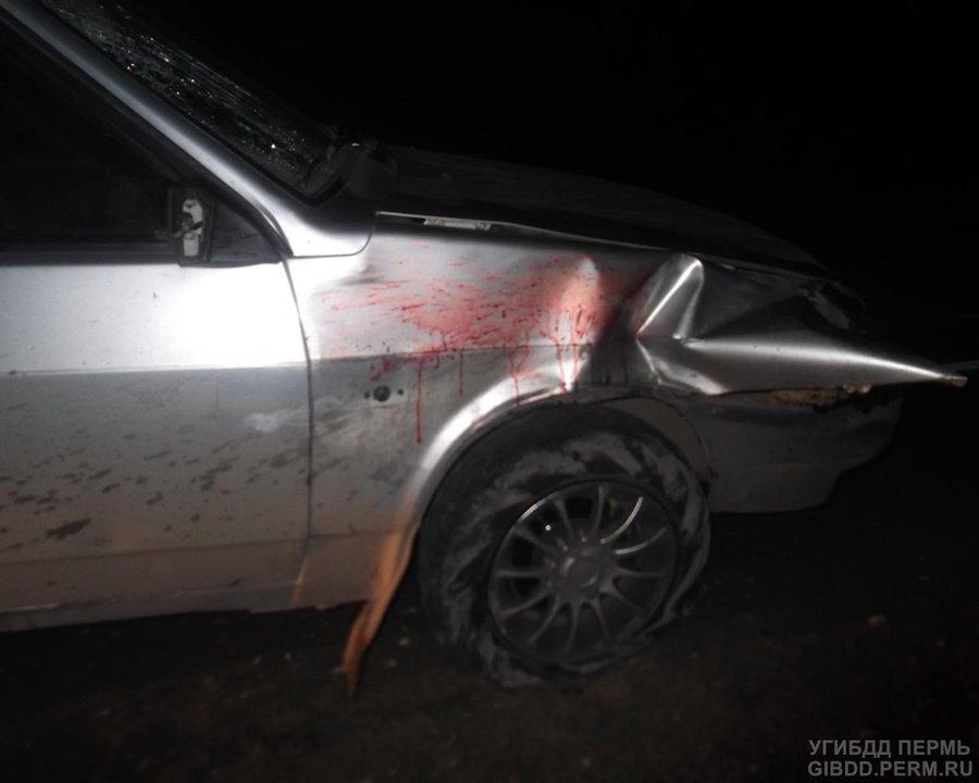 В Перми на Дороге Дружбы ВАЗ сбил пожилую женщину - фото 1